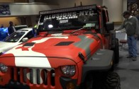 NY Auto Show 2014 – DUB Show – The Camo-Jeep (pt. 1)