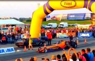 OSIJEK STREET RACE XIV 31.05.2015. Chevrolet Camaro 1076 KS Edvard Galic – Dragster Csaba Erdős