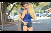 pegadinha beijando mulheres Super gatas – Beijos com pegada HD/HQ  best Kissing Pranks