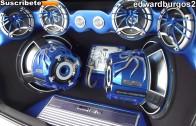 peugeot 206 Tuning modificado soundstream car audio puertas verticales rines de lujo 2012 FULL HD
