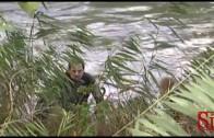 Pompei (NA) – Tragico schianto, auto con due donne finisce nel fiume -1- (21.11.13)