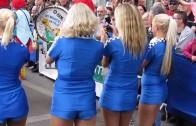 Praga Le Mans Grid Girls 2013 Parade des Pilotes