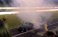 Raceway Park Burnout Contest blows motor