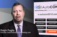 Ralph Paglia Recommends AutoCon 2012 Workshops | Sept 5-8 Las Vegas NV | Auto Dealer Conference 2012