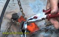 Riparazione catena auto con rondelle spaccate grover