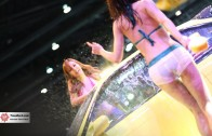 ดาราหนังโป๊ Rola Misaki & Nono Mizusawa Sexy Car wash Battle Bangkok International Auto Salon 2015