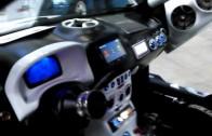 Roma Tuning Show 2013: giocare a Forza Motorsport con l'XBOX nella propria auto?.. SI PUO'? :))