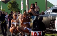 Santarem Tuning Party Motorshow e Car Audio 2013 | Monster Energy Hot Sexy Car Wash Girls
