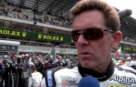 Scott Tucker On The Grid at LeMans 2011