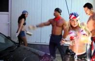 Sexy American Carwash | Sexy Bikini Girls @Gummersbach
