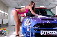 Sexy Car Wash 2015 – Sexiest Car Wash Compilation – MINI Cooper car wash sexy girl