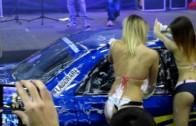Sexy Car Wash al Roma Tuning Show 2013