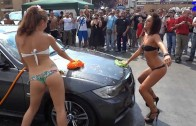 Sexy Car Wash – Donne e Motori Show – Auto Tuning Meeting Granai Roma 2013