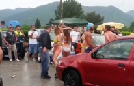Sexy Car Wash Forino 07 06 2015