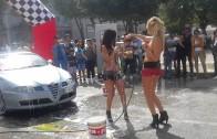 "Sexy Car Wash MA.FRA ""RADUNO ALFA ROMEO"" Ostuni 20/09/15"