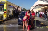 Sexy Car Wash Mafra girl