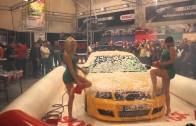 Sexy Car Wash mit Bernadette und Estefania