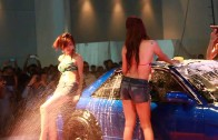 Sexy Car Wash Zoo – Bangkok International Auto Salon 2013