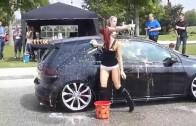 Эротичная мойка машин  Sexy Car Wash