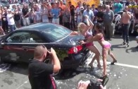 Hot Car Wash Scene From Bikini Spring Break – VIDEO