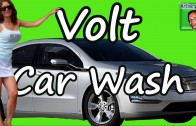 Sexy Chevy Volt Car Wash