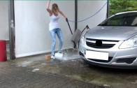 Sexy crazy Girl – lustig funny Car Wash App
