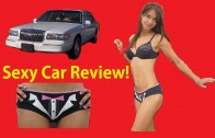 Sexy Girl Reviews Cars Bikini Car Review Video