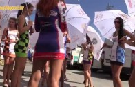 Sexy Grid Girl in paddock – Alpe Adria – SLOVAKIA RING