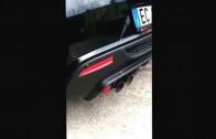 """Sound Alfa mito QV con scarico """"L&R RACING EXHAUST""""..auto con solo terminale montato"""
