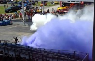 Starboyz Dual Burnout P&S 2012 car show