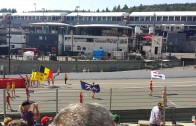 Stewart flag's grid girl's moove to grid spa 2015