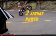 Street Race Ktm 300 vs 250 exc wheelie