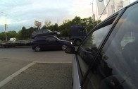 Street racing in Varna Bulgaria police catch Honda part1 GoPro Hero 3 black edition