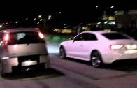 Streetrace Fiat Punto HGT 145bhp – Audi A5 TDI 300bhp