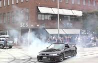 Streetrace in Helsingborg, Sweden