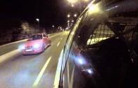 Subaru Impreza WRX vs Audi TT illegal street race with police chase.