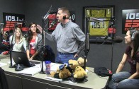 Texas Bikini Team in the ESPN 105.1 Studio