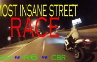 The Most Insane Street Racing CBR vs GSXR vs R6