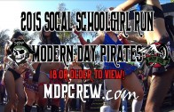 Titties start at 7:00 Socal School girl run Bikini Contest Motorcycle ride Modern Day Pirates