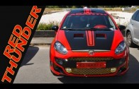 "TUNING Fiat Punto: la ""Red Thunder"" al Fortitudo Day 2013"