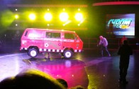 Tuning World Bodensee VW Bus Jump Lowrider!!!