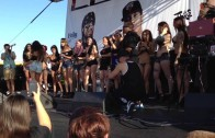 Twerking at Extreme Autofest