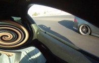 V6 Mustang VS EVO, WRX, RSX-S : Street Race