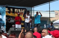 VERBAL ASSASSINZ live performance at the Streetlow car show in San Jose 2012