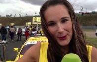 Videoblog zur DTM: Sarah als Grid-Girl
