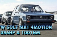 VW Golf Mk1 1056HP Meschede 2015 9,9s 252kmh street race car