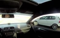 VW GTI street race