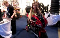 Wroclaw Motorcycle Show CBR Grid Girl