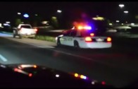 350z vs Duramax LB7 Caught by Police Racing!
