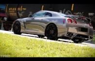 585whp GTR street race compilation